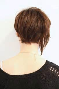 back view of haircuts 15 best back view of bob haircuts short hairstyles 2016