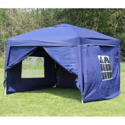 10x10 Canopy Tent With Sides 10 x 10 palm springs ez pop up canopy gazebo tent with 4