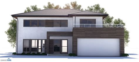 modern houses plans modern house plan ch171 with affordable building budget