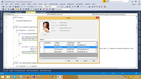picture book database c application insert delete update select in ms access