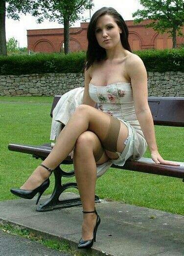 upskirt park bench pin by adsum on bourgeoises bcbg pinterest stockings