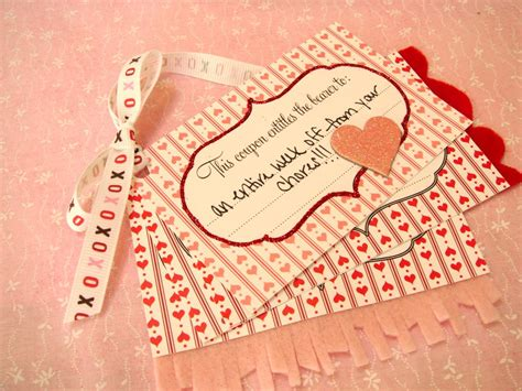 Handmade Coupons - handmade with day 4 coupons s studio