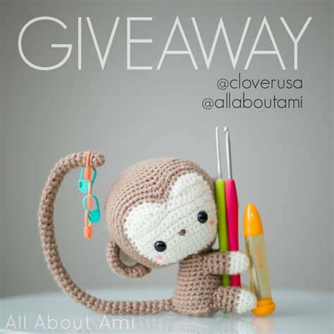 Monkey Giveaway - clover tools giveaway all about ami