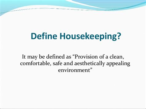 cleaning meaning housekeeping and cleaning equipment