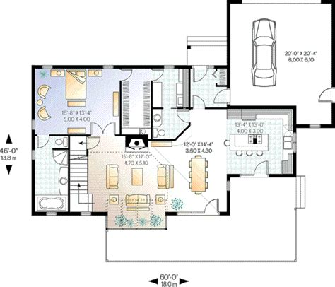 2100 sq ft house plans contemporary style house plan 3 beds 2 5 baths 2100 sq