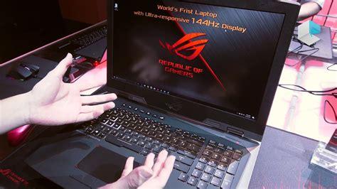 Laptop Asus Rog Di Indonesia asus rog g703 siap meluncur di indonesia laptop gaming dibekali layar 144hz smeaker