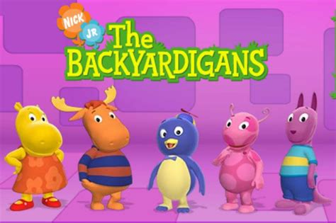 the backyard agains the gallery for gt the backyardigans tyrone