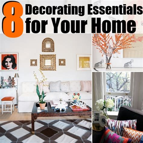 essential home decor 8 innovative decorating essentials for your home diy