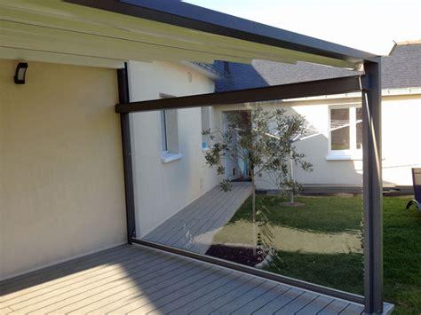delightful rideau coupe vent pour terrasse 12 b 226 che pour