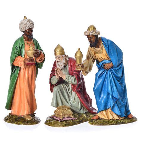 mago della lada tre re magi presepe landi 18 cm vendita su holyart