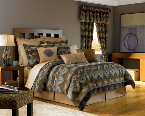 theme bed southwest style comforters and native american indian