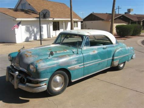 1952 pontiac chieftain for sale sell used 1952 pontiac chieftain hardtop coupe