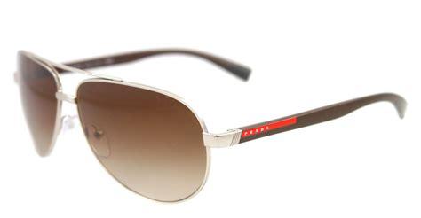Prada Sunglasses new prada sunglasses aviator sps 51n brown 1bc 6s1