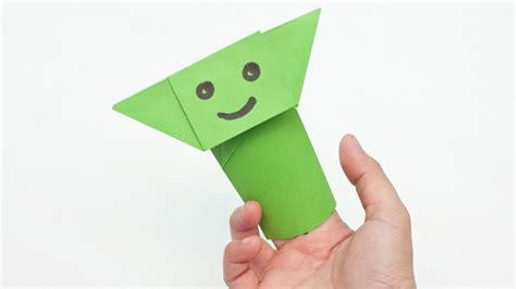 Origami Finger Puppets - origami yoda finger puppet 28 images how to make an