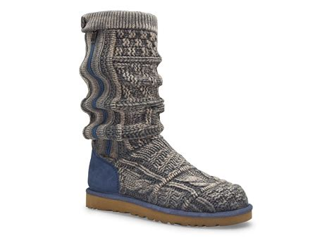 Ugg Patchwork Boots - ugg boots patchwork knit in gray black lyst