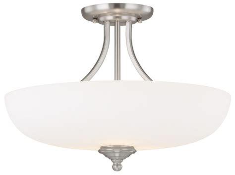 Capital Lighting Ceiling Fans Capital Lighting 3947mn Sw Chapman Transitional Semi Flush Mount Ceiling Light Cp 3947mn Sw
