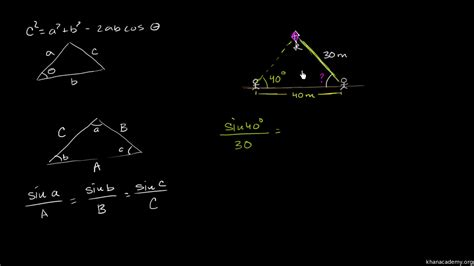 law  sines  law  cosines worksheet lesson