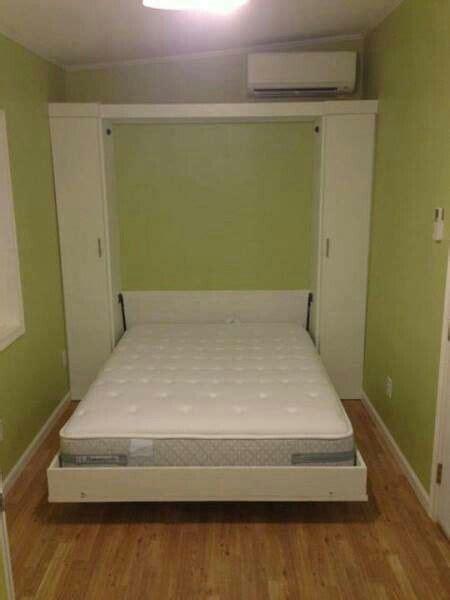 tiny house murphy bed pinterest
