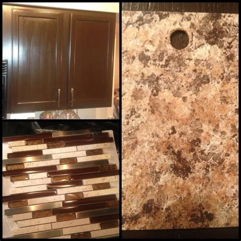 new kitchen color pallet cabinets are espresso