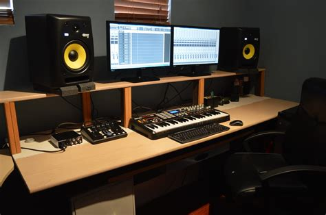 home design studio pro for pc full look of dual monitor setup with krk rokit 8 and akai
