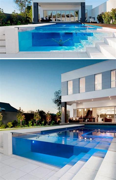 glas pool amazing glass pool walls home design and interior