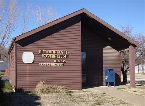 post office 67351 liberty kansas liberty with fewer