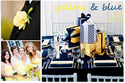 Wedding Inspiration: Yellow and Blue   Thoughtfully Simple