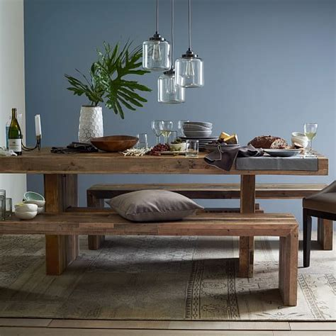 west elm dining bench emmerson 174 reclaimed wood dining bench west elm