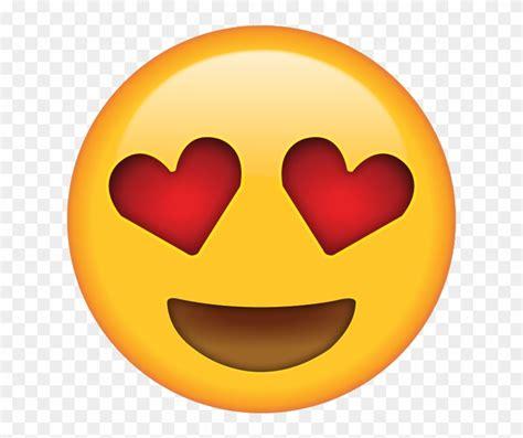 emoji heart eyes emoji png  transparent png