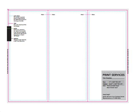 Sample Pamphlet Template   6  Documents Download in PDF, PSD