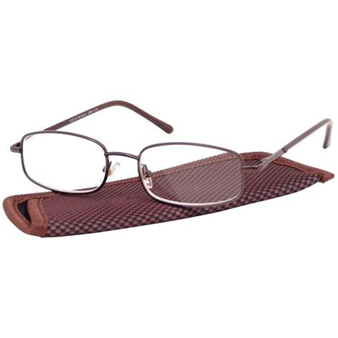 foster grant s metal reading glasses dean brown