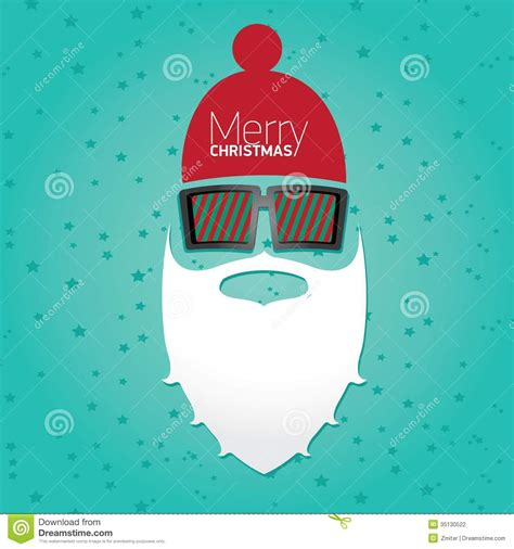 printable christmas posters cards christmas hipster poster for party or card stock vector