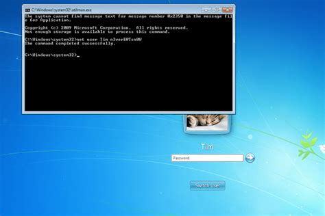 resetting windows vista password command prompt step by step guide to resetting a windows 7 password