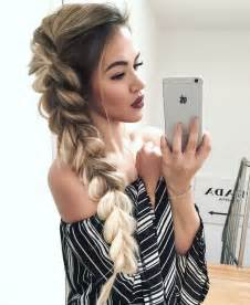 hairstyles to do with plaited extensions 20 braid hairstyles for your weekend pretty designs