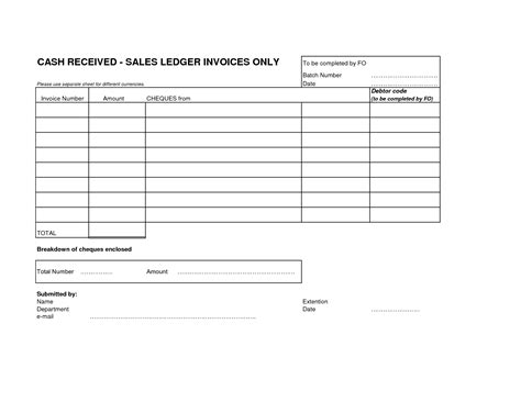 Best Photos Of Sales Ledger Sheet Printable Blank Ledger Sheet Income Ledger Template And Sales Posting Template