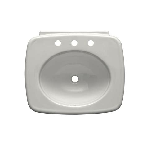 kohler bancroft pedestal sink kohler bancroft vitreous china pedestal sink basin in