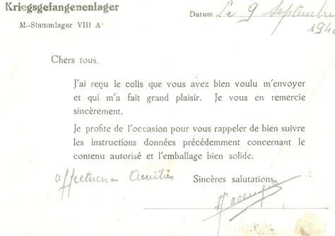 Exemple De Lettre Ecrite A Des Prisonnier Exemple De Lettre A Un Prisonnier