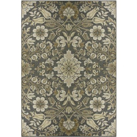 nature area rugs shop maples rugs value bay gray rectangular indoor machine made nature area rug common 8 x