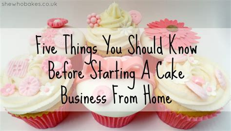 How To Start A Decorating Business From Home Five Things You Should Before Starting A Cake
