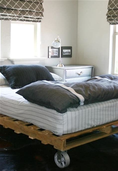 bed made from pallets 10 diy beds made out of pallets wooden pallet furniture