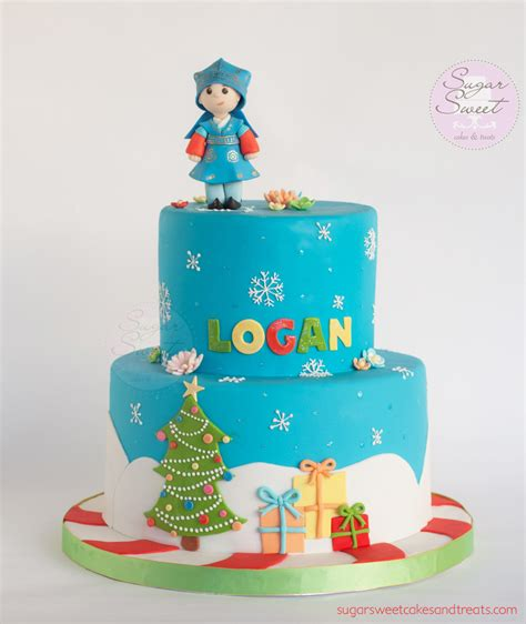 christmas 1st birthday cake cakecentral com