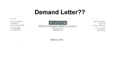 Kansas Demand Letter Demand Letter Not So Fast Illinois Leaks