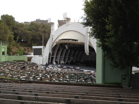 hollywood bowl section d section e and the obstructed view hollywood bowl