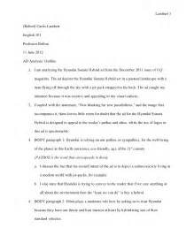 Rhetorical Analysis Essay Outline by Ad Analysis Outline June 1 2012