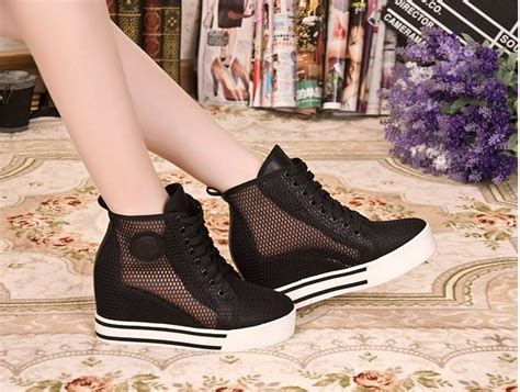 Boot Korea By Syafa Shop wedge mesh sandals high top sneakers ankle boots