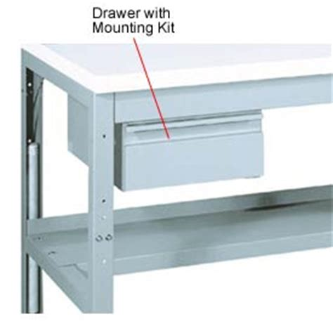 Workbench Drawer Kit by Work Bench Systems Adjustable Height Drawer With