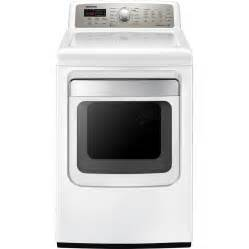 Clothes Dryers At Lowes Shop Samsung 7 4 Cu Ft Gas Dryer With Steam Cycles White