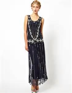 Art deco christmas parties dresses dresses 1920s frill maxi