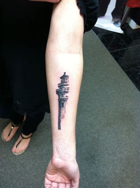 simple lighthouse tattoo 1000 ideas about lighthouse tattoos on
