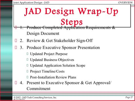 Joint Mba Programs Ucsd by Jad Joint Applications Development